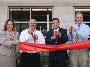 Ribbon Cutting at 100-150 Exchange Street Apartments